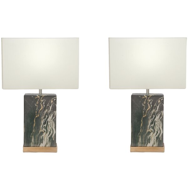 Zaria 23 Table Lamp (Set of 2) by Urban Designs