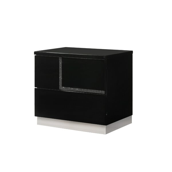 Dalia Right Side Nightstand by Orren Ellis