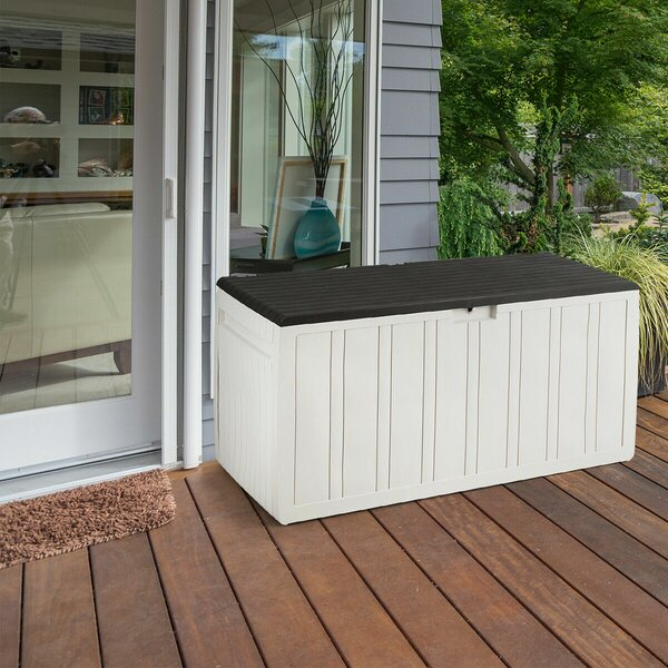 80 Gallon PP Deck Box by Costway Costway