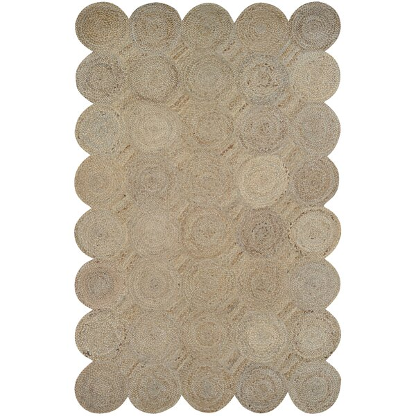 Gloria Hand-Loomed Straw Area Rug by Bungalow Rose