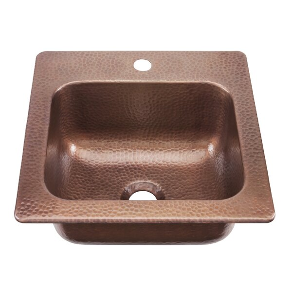 Seurat 15 L x 15 W Drop-In Bar Sink by Sinkology