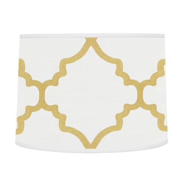 Trellis 10 Brushed Microfiber Drum Lamp Shade by Sweet Jojo Designs