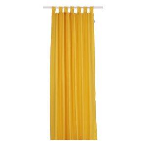 tdove tab top blackout single curtain