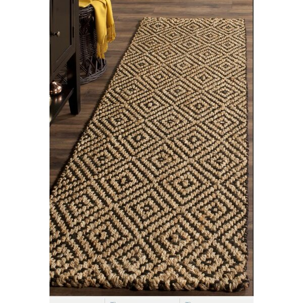 One-of-a-Kind Preusser Kona Hand Woven Golden/Black Are Rug by Union Rustic