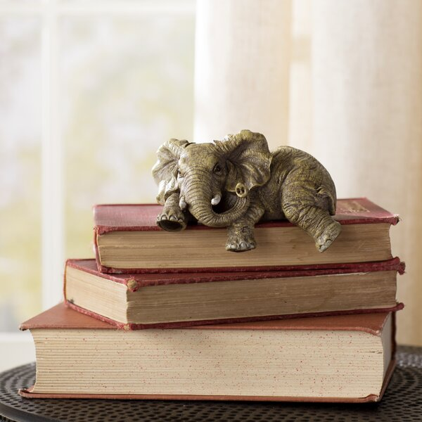 Sattler Ernie the Elephant Shelf Sitter Figurine by World Menagerie