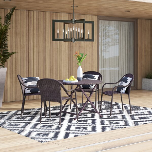 Belton 5 Piece Dining Set by Mercury Row