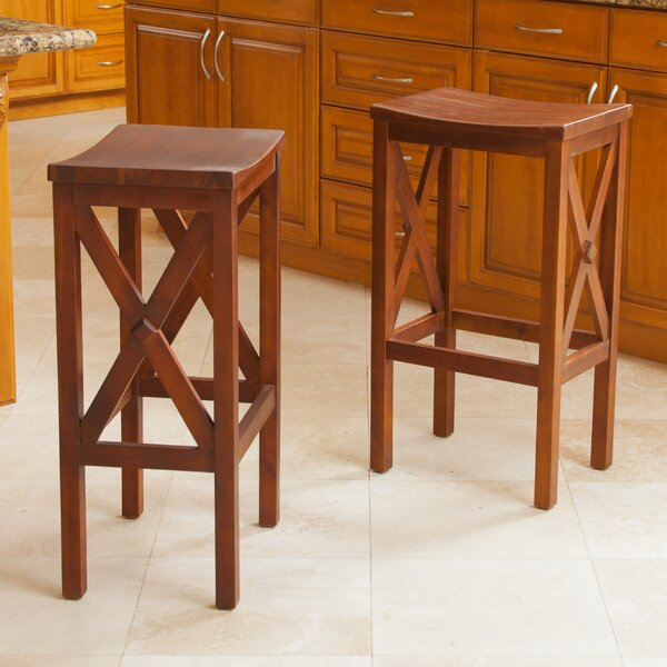 Stogner 30 Bar Stool (Set of 2) by Gracie Oaks