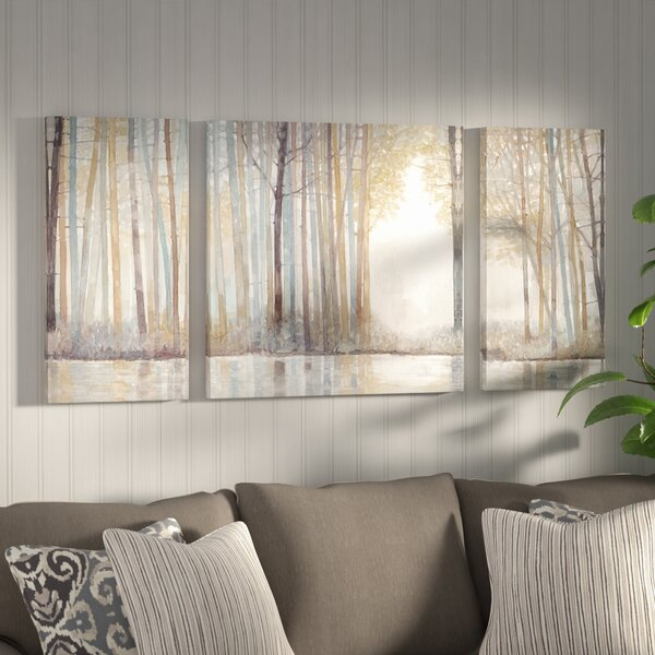 3 Piece Painting Print On Wrapped Canvas Set By Alcott Hill.