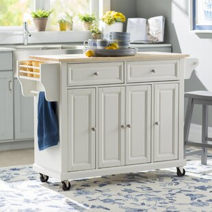 Oak Kitchen Carts And Islands Wood kitchen islands carts youll love wayfair save to idea board workwithnaturefo