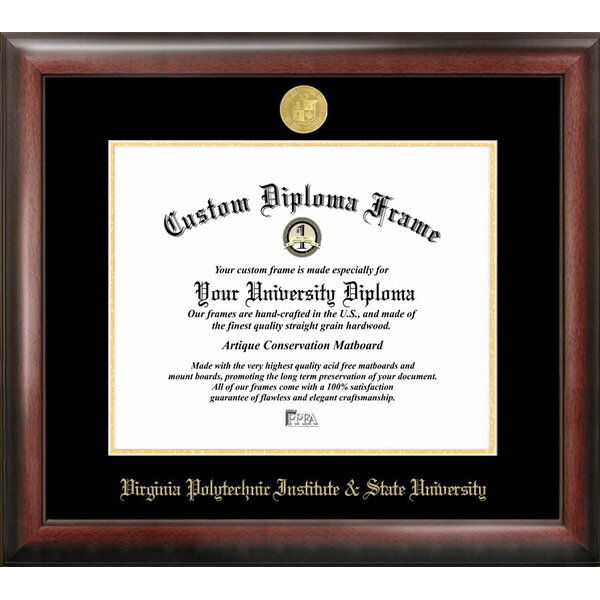 NCAA Virginia Tech Diploma Picture Frame by Campus Images