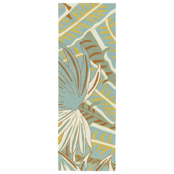 Navarre Handmade Ivory Indoor/Outdoor Area Rug by Bay Isle Home