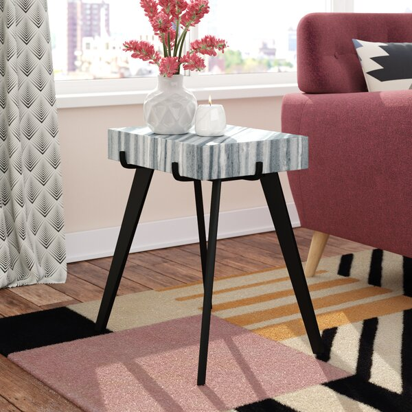 Hallmark End Table by Brayden Studio