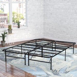 Mattress Foundation/Platform Bed Frame by Alwyn Home