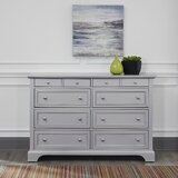 Roxane 8 Drawer Double Dresser by Harriet Bee