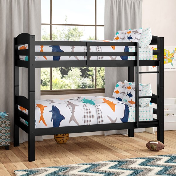 Jailyn Twin over Twin Bunk Bed by Harriet Bee