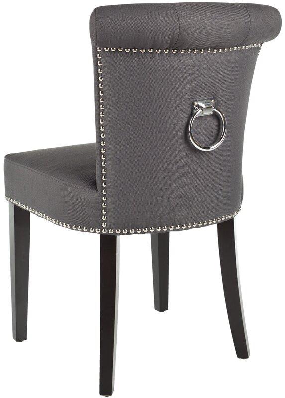 Safavieh Brevard Solid Birch Upholstered Dining Chair ...