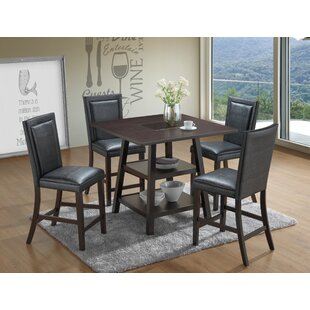 Culligan 5 Piece Counter Height Pub Table Set By Red Barrel Studio