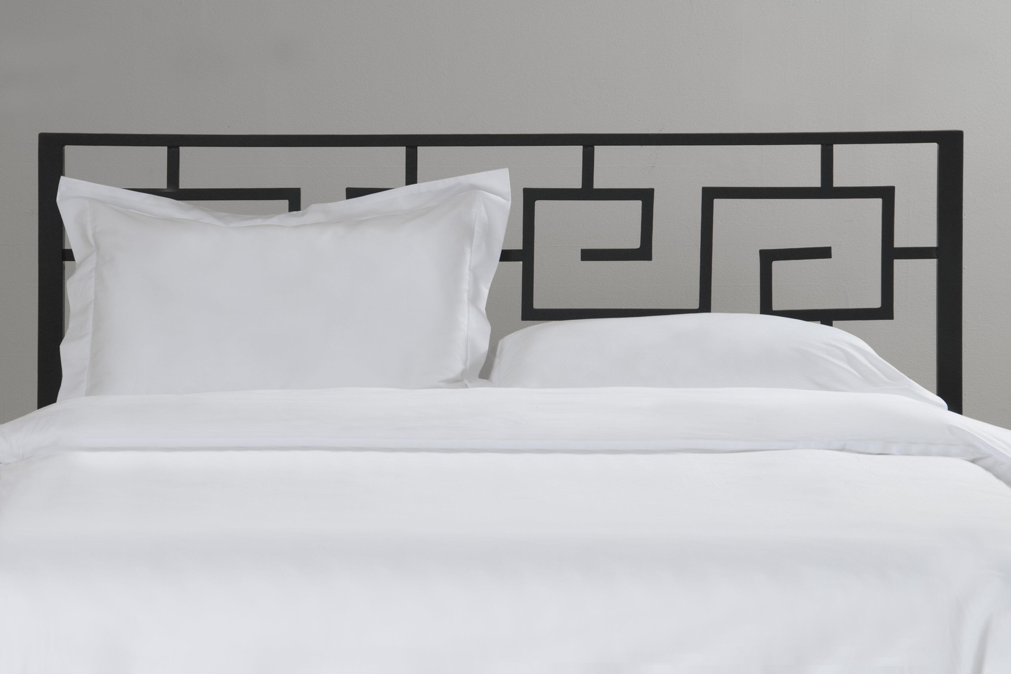 In Style Furnishings Greek Key Open-Frame Headboard & Reviews | Wayfair