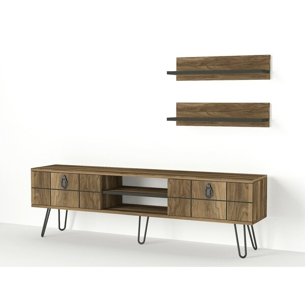 Earnestine TV Stand For TVs Up To 65'' By Union Rustic