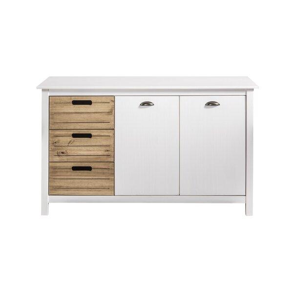 Hardouin 3 Drawer Combo Dresser by Highland Dunes