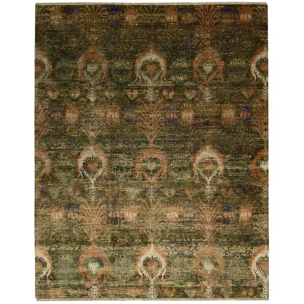 Pinos Traditional Hand knotted Area Rug by Bloomsbury Market