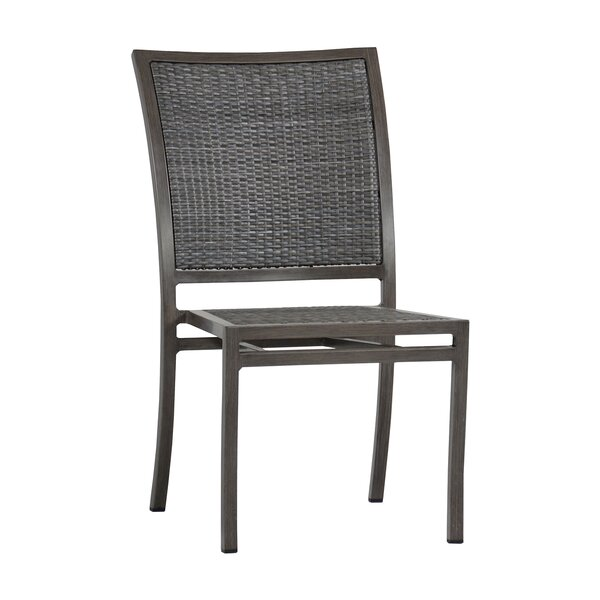 Villa Stacking Patio Dining Chair (Set of 4) by Summer Classics Summer Classics