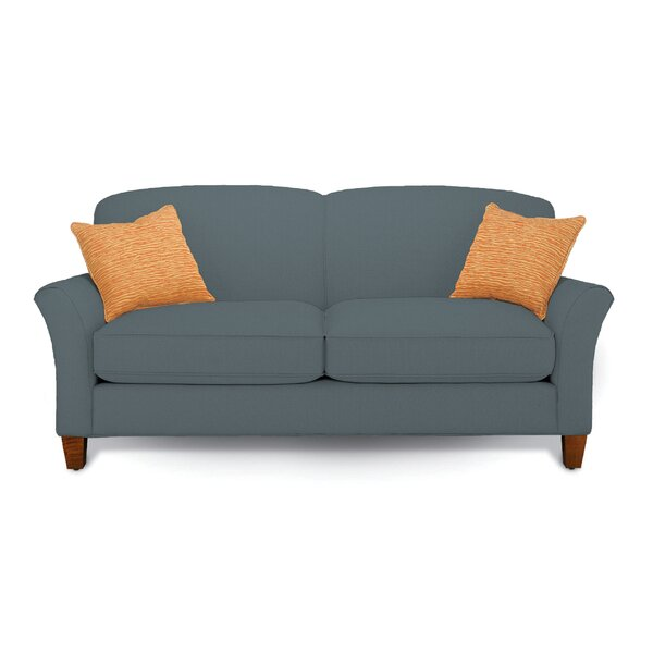 Capri Mini Mod Apartment Loveseat by Rowe Furniture