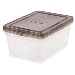 Top Reviews 17 Quart Plastic Storage Box Set (Set of 2) By IRIS USA, Inc.