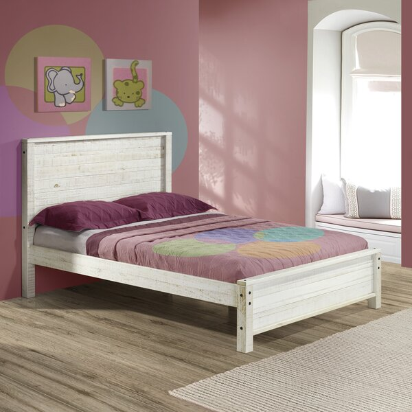Rustic Panel Bed by Alaterre