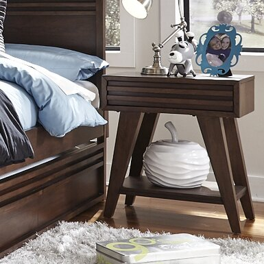 Stepplee 1 Drawer Nightstand by Grovelane Grovelane