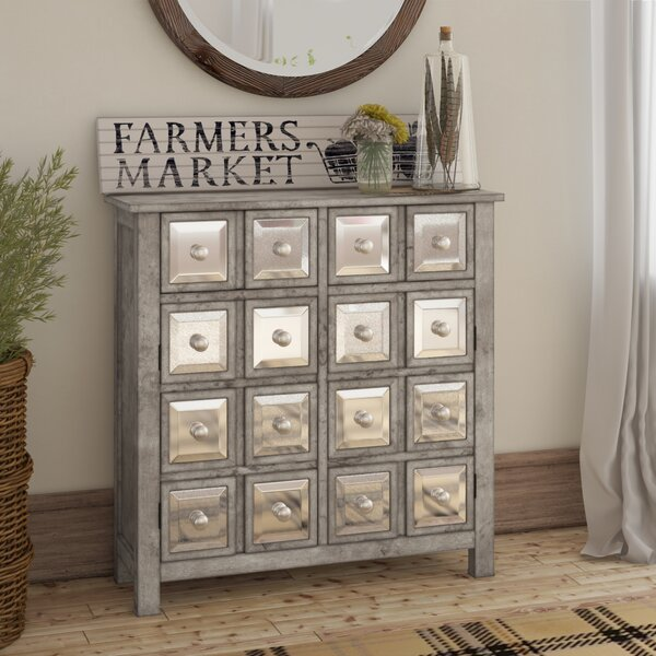 Roney 2 Door, 2 Drawer Accent Cabinet by August Grove