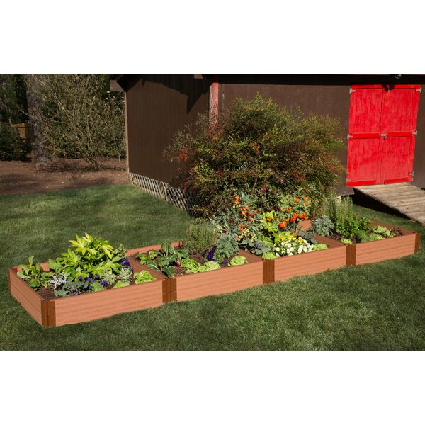Classic Sienna 4 ft x 16 ft Raised Garden by Frame It All