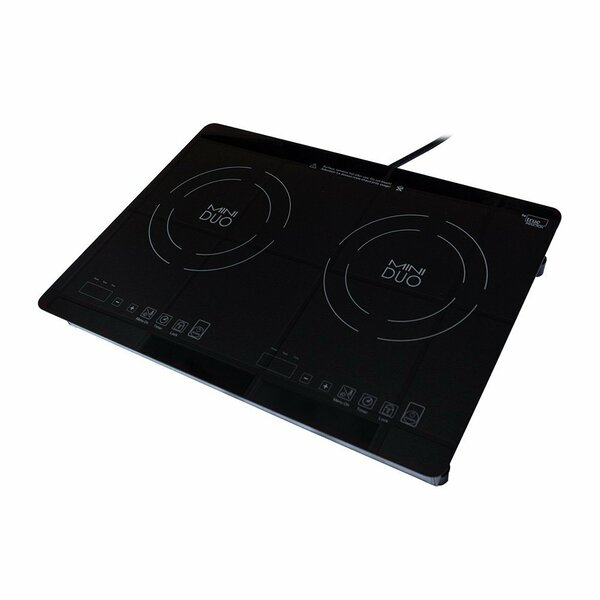 21 Induction Cooktop With 2 Burners By True Induction.