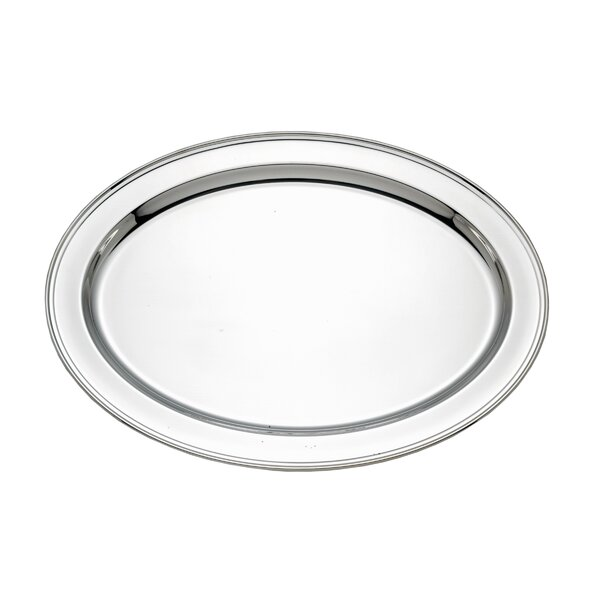 Silver Plated 22 Oval Tray by Reed & Barton