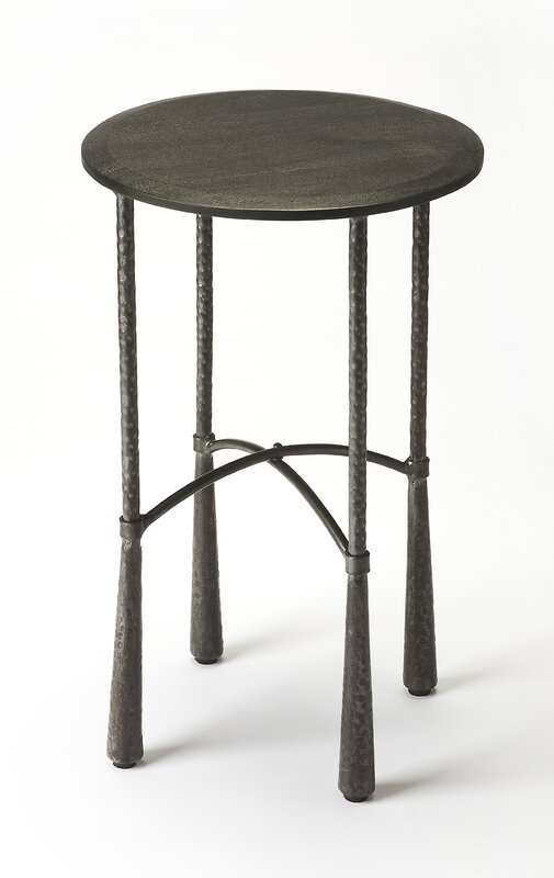 Superior Industrial Chic End Table