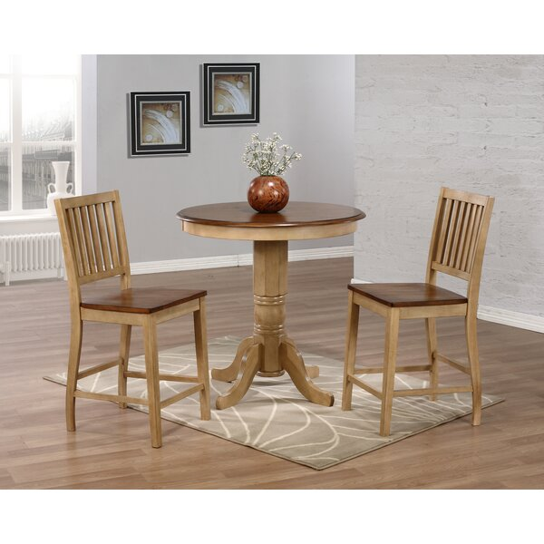 Huerfano Valley 3 Piece Pub Table Set by Loon Peak