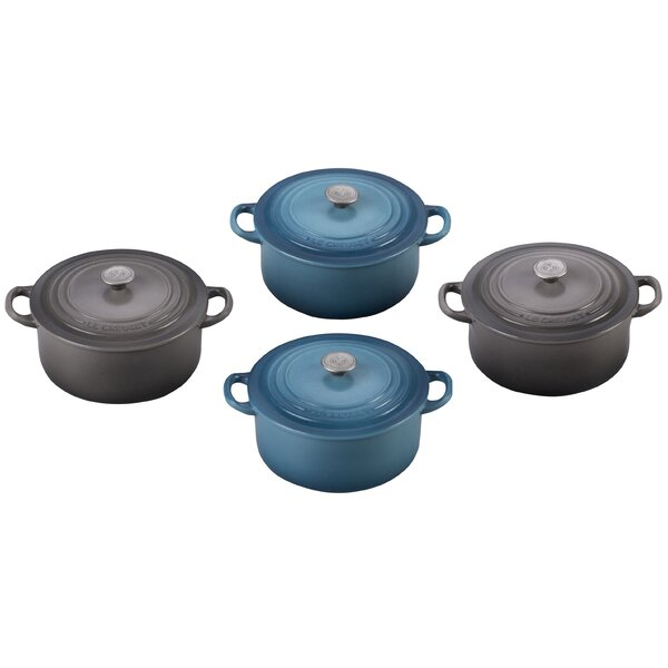 Round Dutch Oven Magnets (4 Pack) by Le Creuset