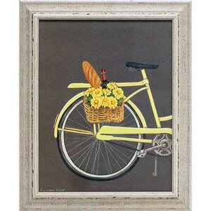 'Bicycle I' by Gwendolyn Babbitt Framed Graphic Art by Artistic Reflections