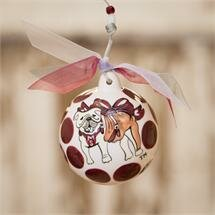 Mississippi State Ball Ornament by Glory Haus
