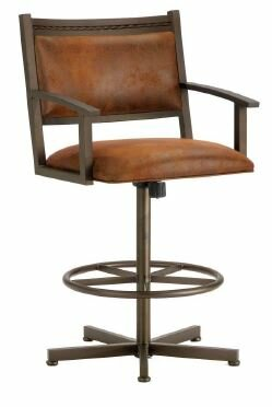 Humphrey 30 Swivel Bar Stool by Iron Mountain