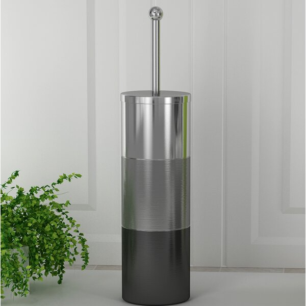 Colby Free-Standing Toilet Brush Holder by NU SteelColby Free-Standing Toilet Brush Holder by NU Steel