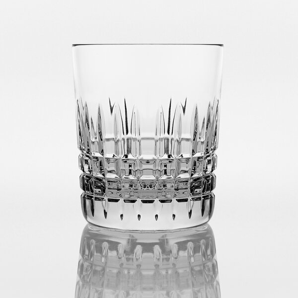 Keim Old Fashioned 9.5 oz. Crystal Cocktail Glass Set (Set of 4) by Darby Home Co