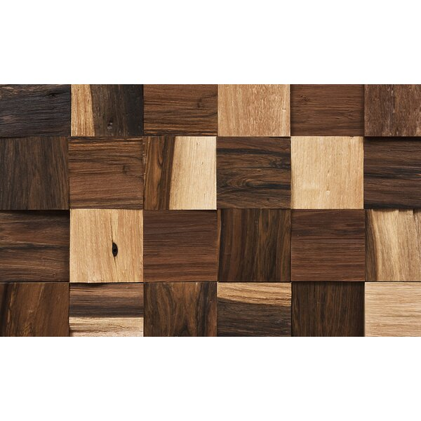 Coterie 2-3/4 Solid Pecan Parquet Hardwood Flooring in Brown by IndusParquet