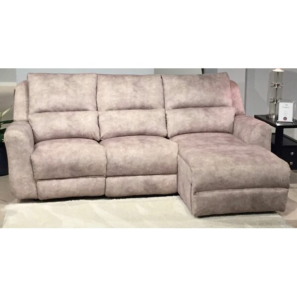 Exellent Quality Producer Right Hand Facing Reclining Sectional by Southern Motion by Southern Motion