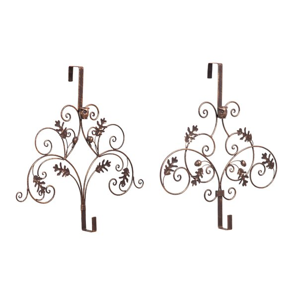 Pine Cones Wreath Hanger (Set of 2) by Loon Peak