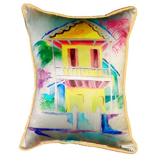 W. Palm Hut Indoor/Outdoor Lumbar Pillow