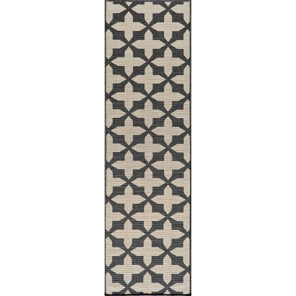 Craine Charcoal Area Rug by Charlton Home
