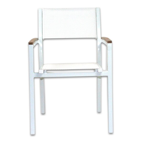 Marina Stacking Patio Dining Chair by Brayden Studio