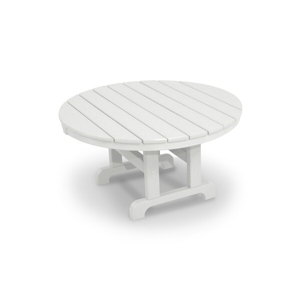 Cape Cod Plastic/ Resin Chat Table By Trex Outdoor