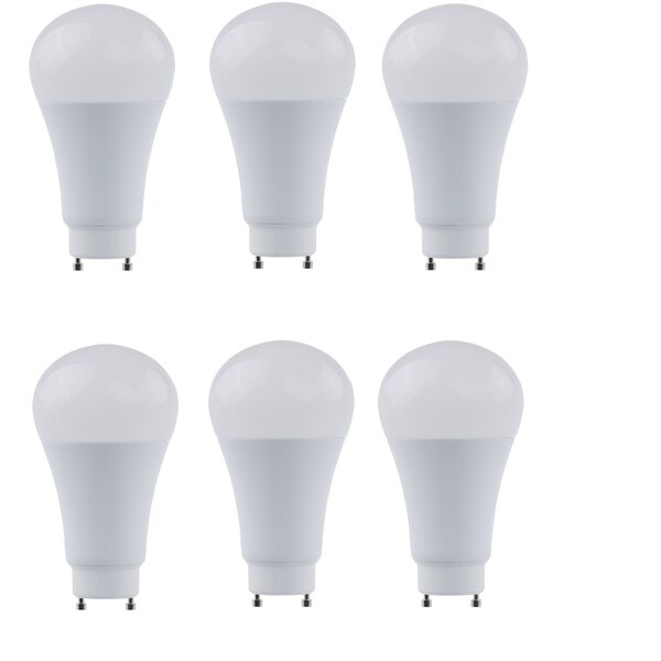 17W GU24 LED Light Bulb (Set of 6) by Elegant Lighting